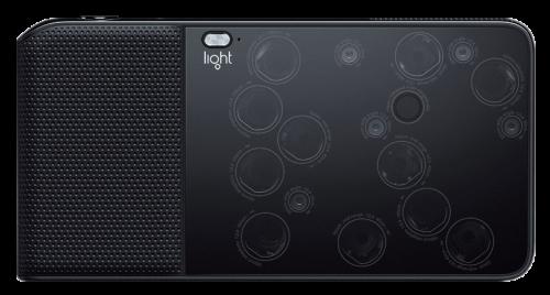 Light L16 - vue du côté des 16 objectifs
